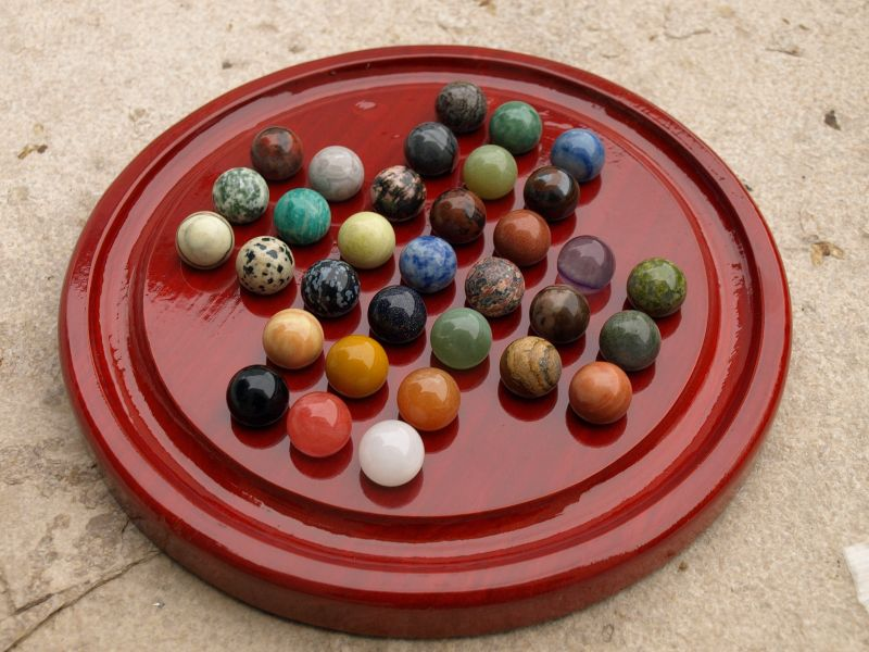 hus bao kalaha mancala steinchenspiel edelsteinspiel aus samena holz inkl 75. Black Bedroom Furniture Sets. Home Design Ideas